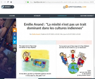 article,inde,famille mixte,famille franco-indienne,bandati
